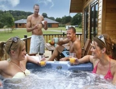 Log Cabins with Hot Tubs in Norfolk
