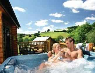 Black Hall Lodges in Shropshire