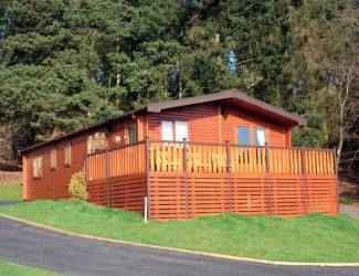 Astbury Falls Lodges in Shropshire